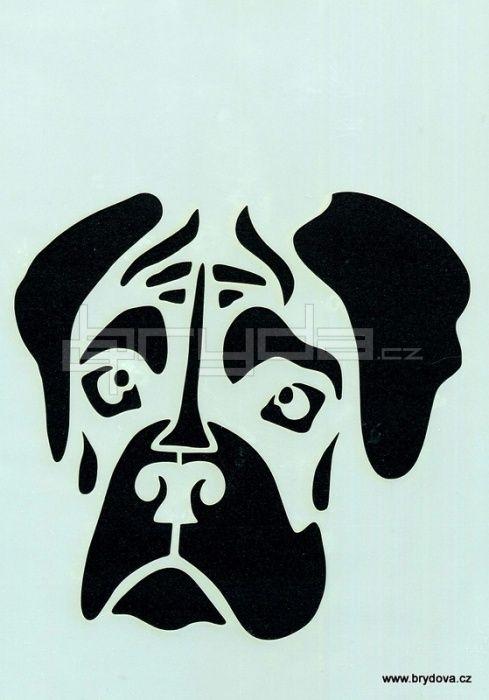 Boxer Dog Pumpkin Stencil Dog Breeds Picture