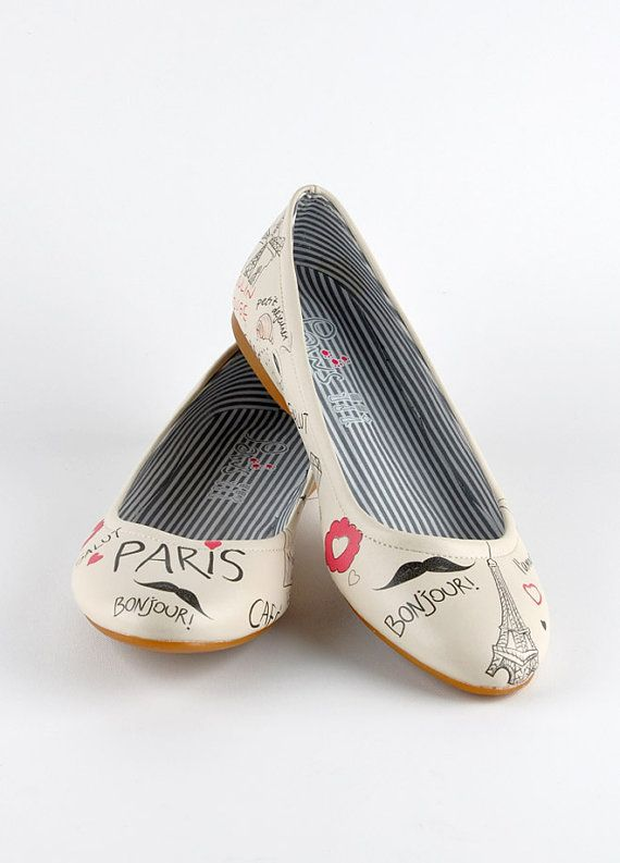 love you paris model stylish womens shoes by GirlsDepartment