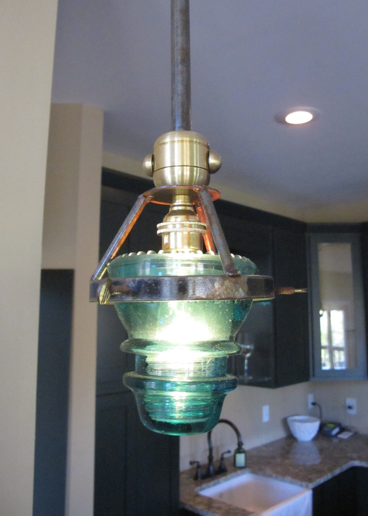 telephone insulator light fixture insulator uses pinterest. Black Bedroom Furniture Sets. Home Design Ideas