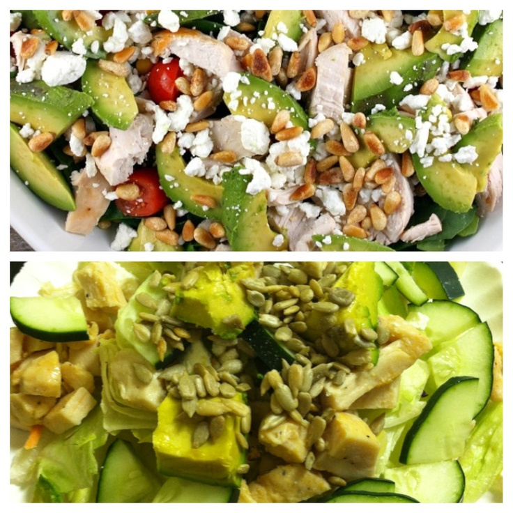 Protein Power Salad | Cooking | Pinterest