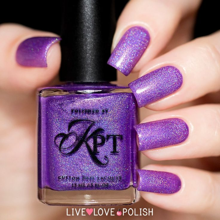 Purple Nails Designs To Feel Like Royalty