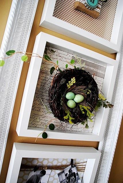 Creative picture frame(s) ensemble