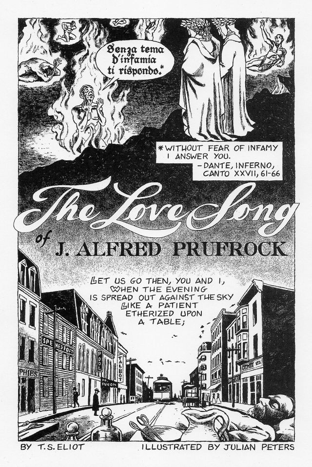 T.S. Eliot Love Song of J Alfred Prufrock