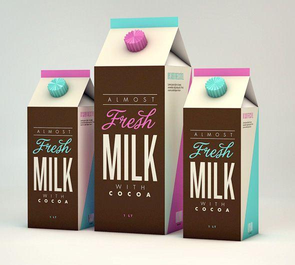 Milk packaging design | Sparkles | Pinterest: pinterest.com/pin/113153009360815889