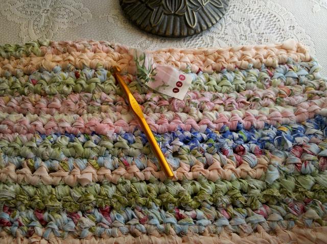 CROCHET RAG RUG Crochet Pinterest