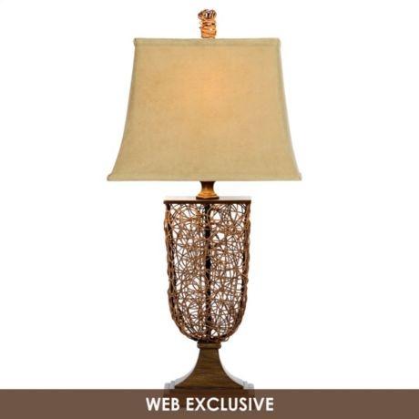 Malacca Wicker Table Lamp