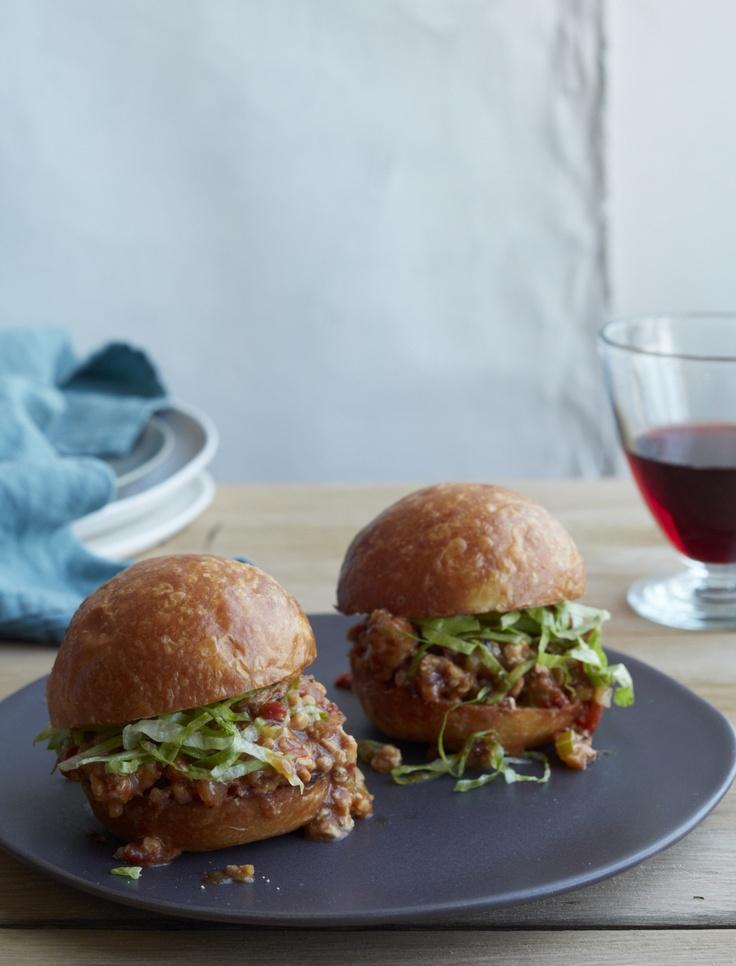 vegan red wine sloppy joe sliders recept yummly get chicken sloppy joe ...