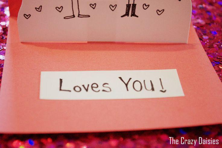 valentine cards diy pinterest