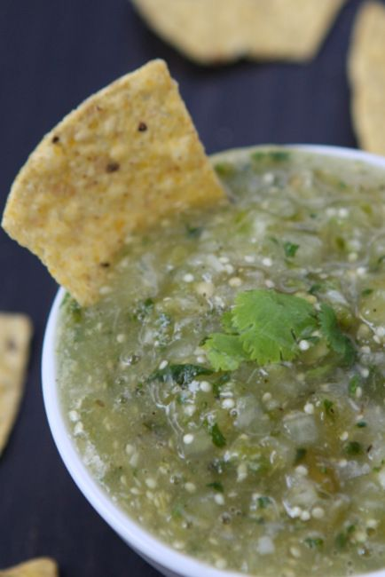 Roasted Tomatillo Salsa | Recipe