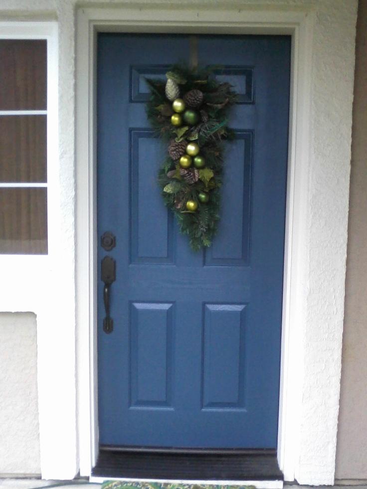 Peacock Front Door.