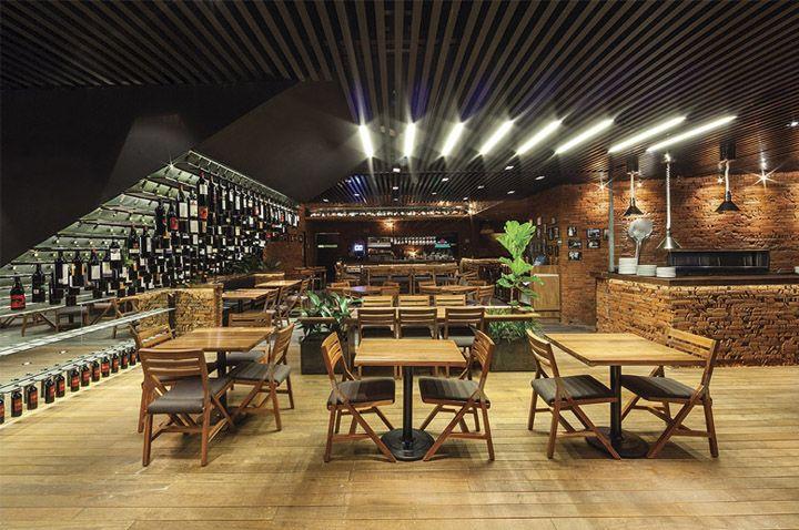 50 friends restaurant by Cherem Arquitectos Mexico City 02 50 friends restaurant by Cherem Arquitectos, Mexico City