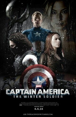 Captain America 2: The Winter Soldier - really looking forward to this release