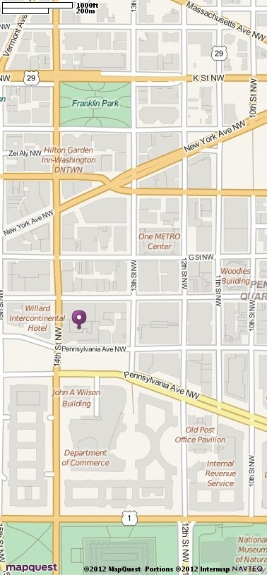 1331 Pennsylvania Ave NW, Washington, DC 20004 Directions, Location and Map | MapQuest