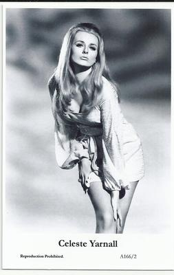 CELESTE YARNALL PHOTO POSTCARD ACTRESS FILM STAR VINTAGE MOVIE STARS A SERIES