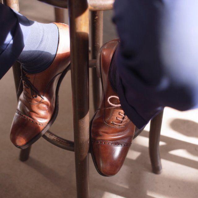 Allen Edmonds Fifth Avenue Cap Toe Lace Up Shoes