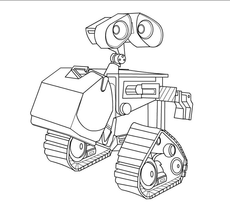 disney wall e coloring pages - photo#21