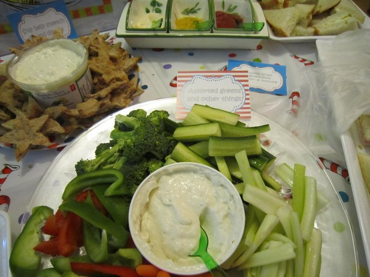 dr seuss veggie tray baby shower ideas pinterest