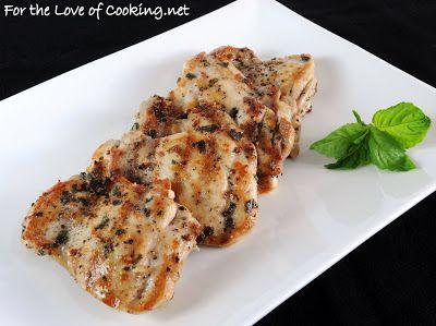 Basil Marinated Chicken | Recipes- Chicken | Pinterest
