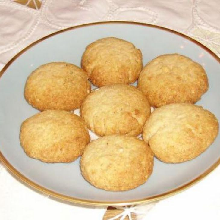 Chinese Almond Cookies | Gluten-free | Pinterest
