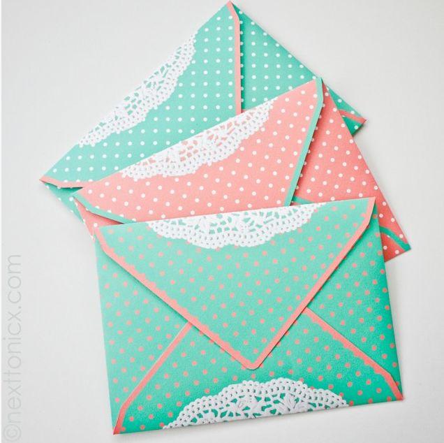 Красивые конверты своим руками