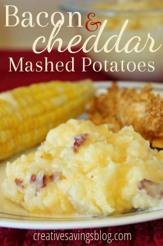 Bacon and Cheddar Mashed Potatoes | Recipe