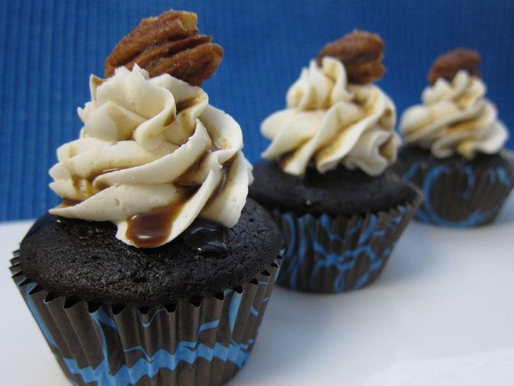 George Caramelin (Chocolate, Cinnamon, Bourbon) Cupcakes   Cooks