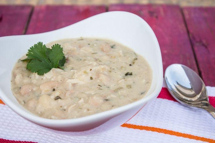 White Chili (and bread bowl recipe!) | SouthernFATTY.com