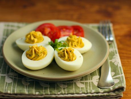 tarragon with eggs! Recipe for tarragon and roasted red pepper deviled ...