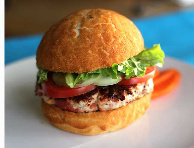 Best Turkey Burger EVER! So good you won't even mind that it's made o...