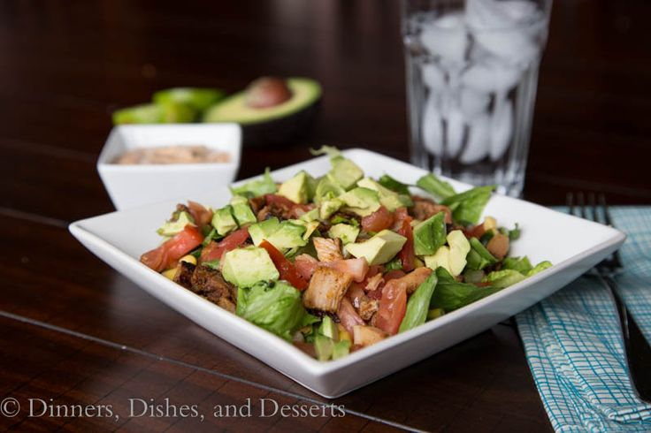 Mexican Chopped Salad with Creamy Chipotle Dressing - I love chopped ...