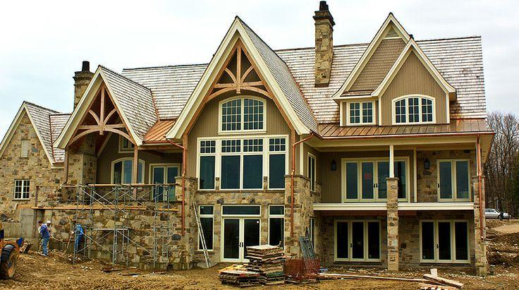 House Exteriors Custom Home Exteriors