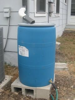 Dirtiest Kid in the World: How To Make A Rain Barrel