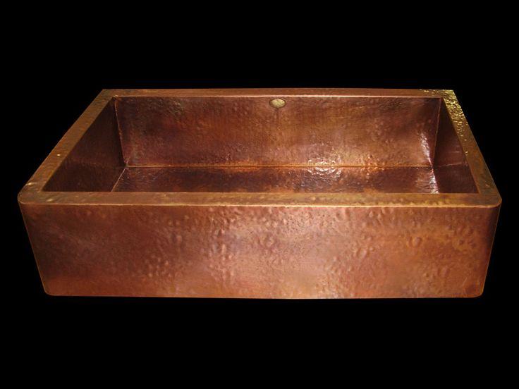 Copper Utility Sink : Laundry Room copper sink Organized Virgo Pinterest