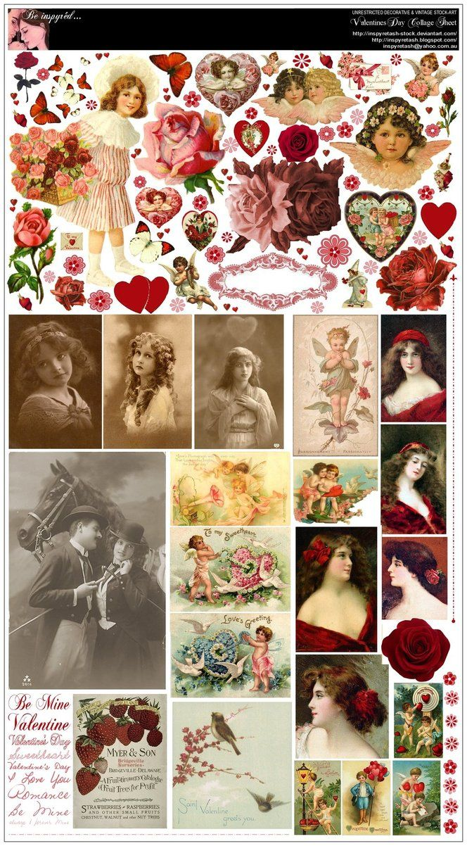 ValentinesDay2010 CollageSheet by *Beinspyred on deviantART