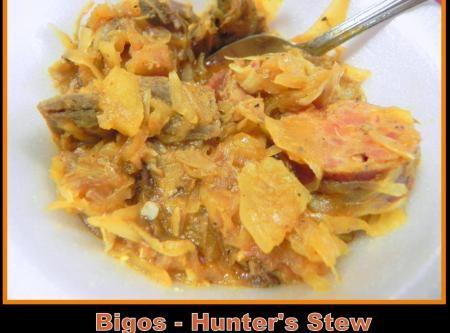 Hunters Stew (Polish) Recipe | Polish Foods | Pinterest