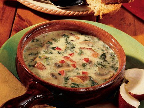 Creamy Reuben Soup - A hearty dinner ready in 30 minutes! Serve this ...