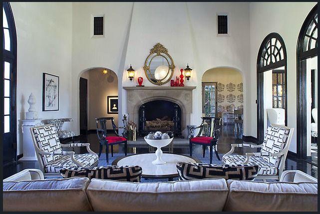 Art Deco Living Room Beauteous Design Decoration