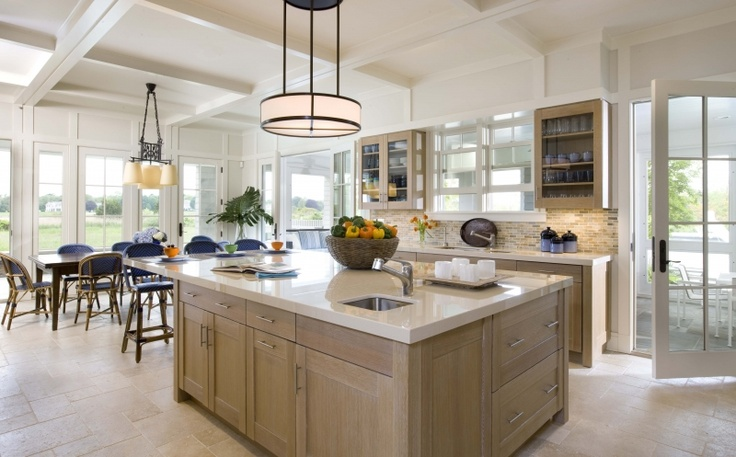 Transitional Kitchen Kitchen Fantasy Pinterest