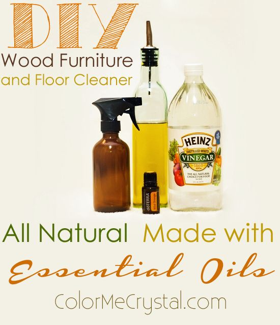 Diy wood furniture and floor polish recipe for Homemade furniture polish with essential oils