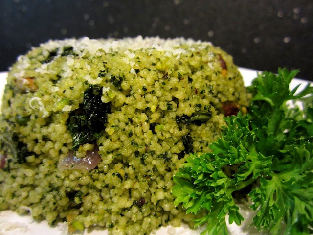Kale and Pistachio Couscous | I'm hungry! | Pinterest