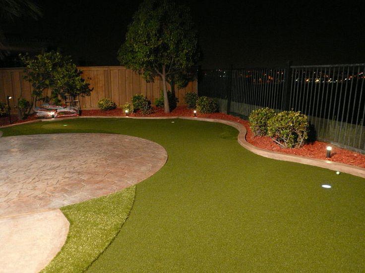 backyard mini golf course for the yard pinterest