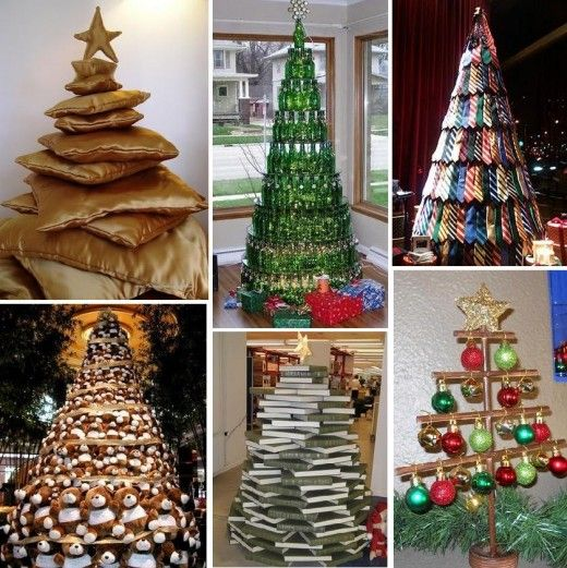 Unusual christmas decoration ideas for Unique christmas tree themes