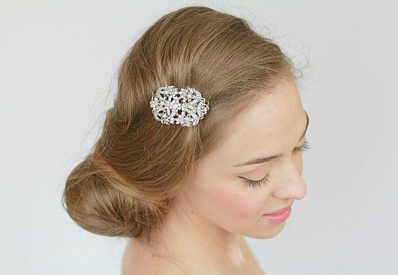... bridal hair accessory rhinestone bridal comb bridal headpiece wedding
