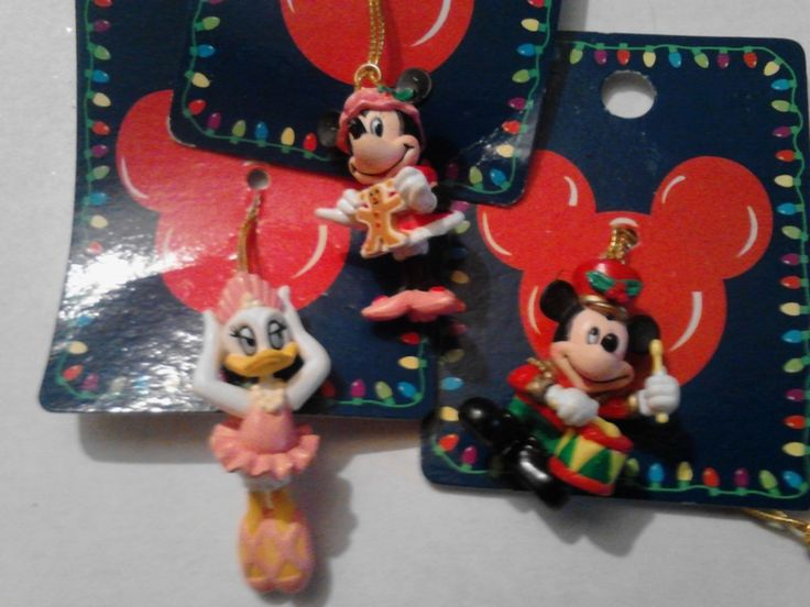 christmas ornaments disney vintage