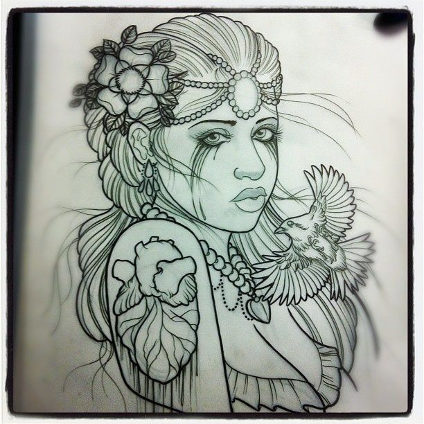 Amazing Tattoo Sketches