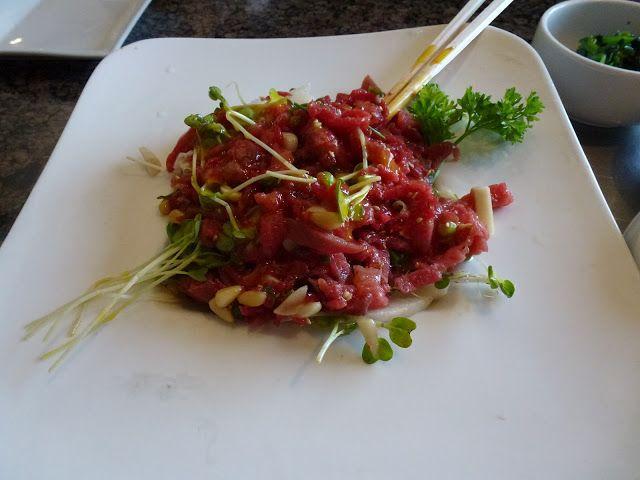 육회 (yuk-hoe) - Korean steak tartare | Asian • Cuisine ...