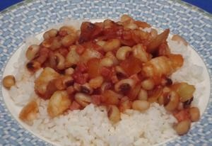 Try a dish of ham and shrimp with black-eyed peas for National Voodoo ...