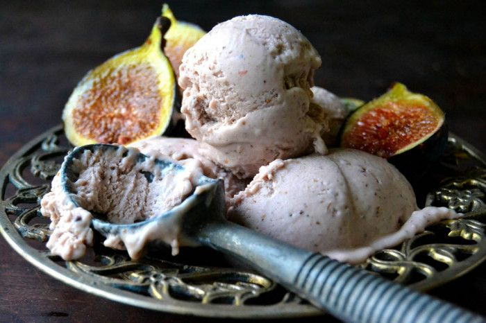 Roasted Fig Gelato / This is the richest and creamiest ice cream I've ...