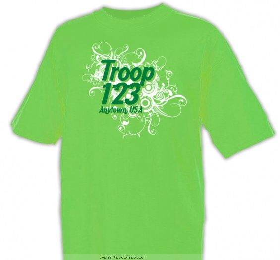 Girl Scout T Shirt Design Ideas Girl Scout T Shirt Ideas Calligraphy Troop Shirt T Shirt Design