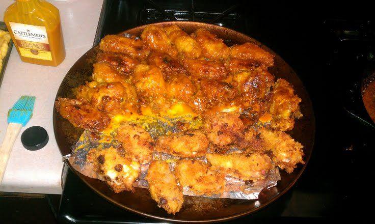 breaded honey gold wings recipe